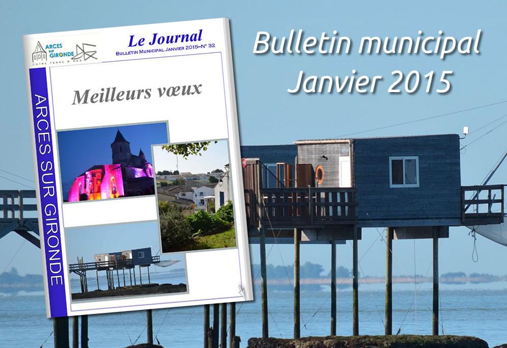 Bulletin municipal – Janv. 2015