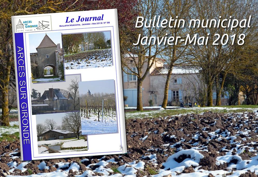 Bulletin municipal Janvier à Mai 2017